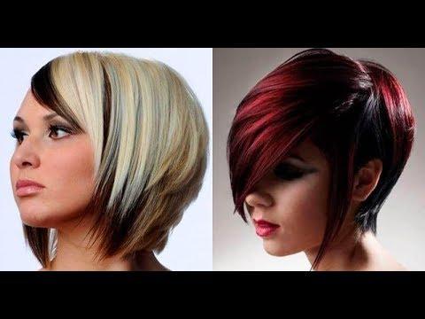 Тренды 2019 Модные оттенки и техники окрашивания на короткие волосы!