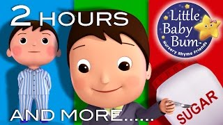 Johny Johny Yes Papa | 2 HOURS of Nursery Rhyme Videos from LBB! | ABCs and 123s