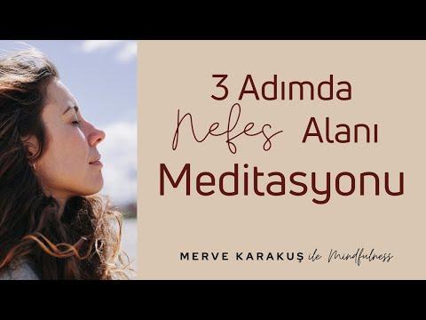 Mindfulness - 3 Adımda Nefes Alanı
