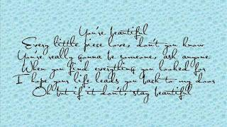 Stay Beautiful Taylor Swift lyrics
