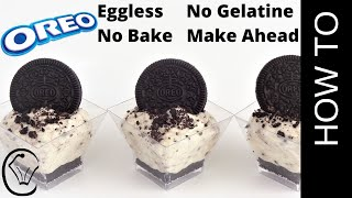 Video No Bake Mini Oreo Cookies and Cream Cheesecake Cups by Cupcake Savvy's Kitchen MP3, 3GP, MP4, WEBM, AVI, FLV September 2019