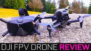 Crazy Fast Drone!! - DJI FPV Combo Review