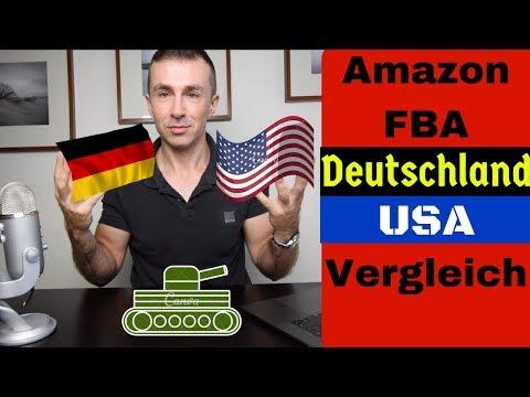 Amazon FBA Deutschland und USA im Vergleich. Auf Amazon international verkaufen