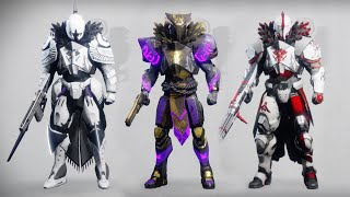 Destiny 2 Titan Fashion Sets #2 - 1250 Subscriber Special!