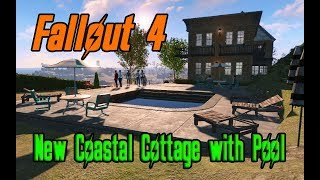 Fallout 4 - New Coastal Cottage with Pool