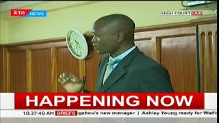 Lawyer Kimani's murder case proceedings at the Nairobi High Court