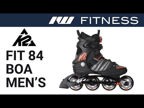 K2 FIT 84 Boa Skates For Men 2019