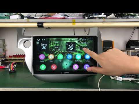 Joying Honda Fit Car GPS Navigation System Android 8.1 IPS Screen Head Unit