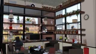 The Sims 3 - Modern Desert House on Cliff