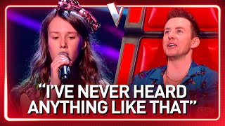 12-Year-Old sounds like an OLD SOUL SINGER in The Voice Kids | Journey #52