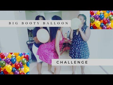 BIG BOOTY BALLOON CHALLENGE| Kenyan youtuber