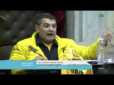 Video: Enterate que dijo Olmedo en el debate por la despenalización del aborto