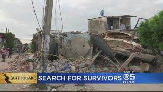Rescue Crews Race To Find Quake Survivors Mexico City