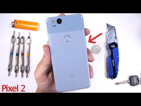 Pixel 2 Durability Test! – Scratch and BEND tested…
