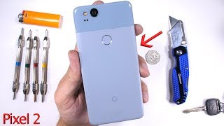 Pixel 2 Durability Test! - Scratch and BEND tested...