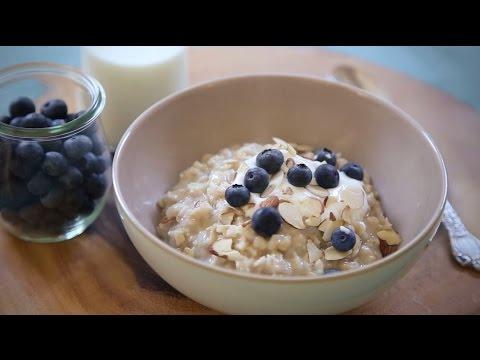 How to Make Rice Cooker Oats | Make Ahead Breakfast Recipes | Allrecipes.com