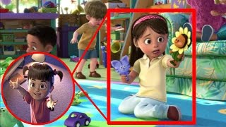 ¿Boo de Monster INC en Toy Story 3?