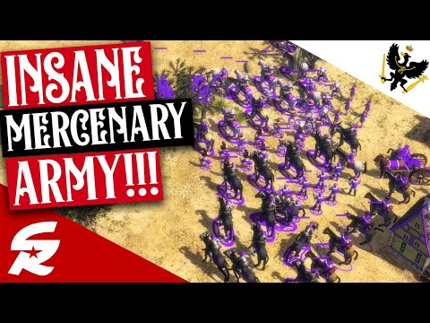 FULL Mercenary Army is OP!!! | Classic & Casual | Age of Empires III