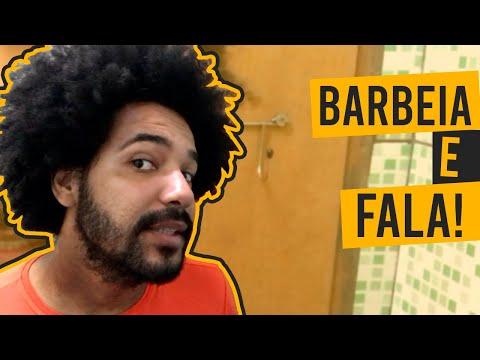 BARBEIA E FALA - CABELO E BARBA GRANDE COMBINAM?