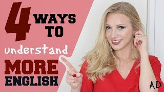 4 Steps to Easily Understand English | Improve English Listening Skills #Spon