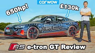 Audi RS e-tron GT 2021 review with 0-60mph & 1/4 mile test!