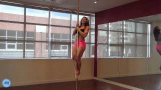Pole Dance Tutorial - Climb