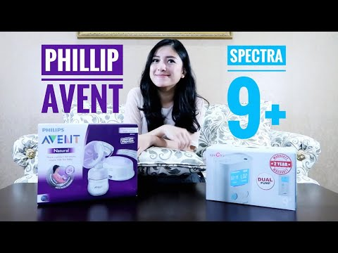 Review Spectra 9+ & Philip Avent Breast Pump Mp3