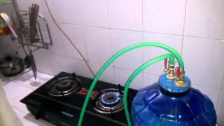 bình khí biogas thân thiện môi trường của ngô văn chiến