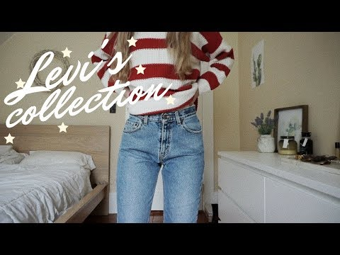 VINTAGE LEVI'S COLLECTION || the sweetest peach