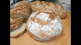 מתכון ללחם מקמח מלא בהכנה ביתית