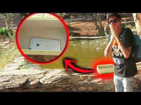 Me encuentro UN IPHONE en UNA CAJA !!! | Las cajas misteriosas 📦