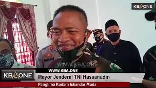 Kunjungan Kerja Pangdam Iskandar Muda di Aceh Jaya
