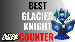BEST GLACIER KNIGHT COUNTER! 6 HUNTER 4 WARLOCK 4 EGERSIS 2 WIZARD | AUTO CHESS MOBILE GAMEPLAY