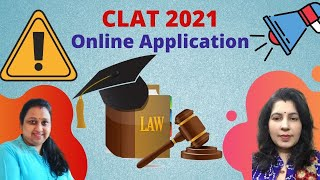 CLAT 2021   How to fill Online Application Form