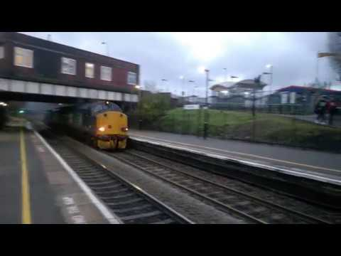 DRS 37602 & 37605 power through Rowley Regis with Berkeley t…