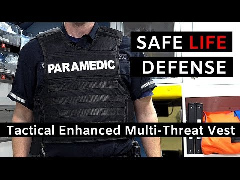 EMS Body Armor: Safe Life Defense Tactical Enhanced Multi-Threat Vest