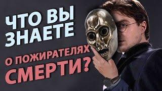 ГАРРИ ПОТТЕР И ПОЖИРАТЕЛИ СМЕРТИ - что скрыто за масками?