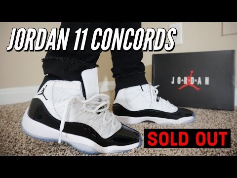 9a310e4de0694f Download AIR JORDAN 11 CONCORD REVIEW   ON FEET !!! SOLD OUT INSTANTLY OVER  1 MILLION PAIRS.. MP3