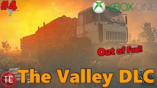 SpinTires MudRunner Xbox One: Let's Play THE VALLEY DLC! RAN OUT OF FUEL! Scout Truck To The RESCUE!