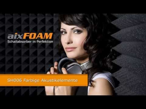 aixFOAM SH006 Schallabsorber Akustikelement