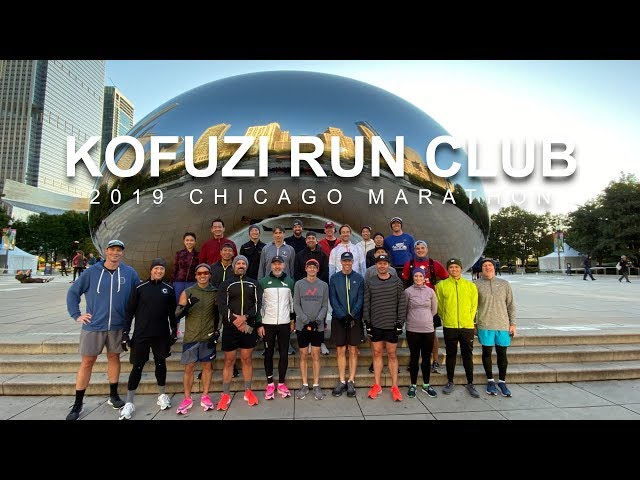 Kofuzi Run Club 2019 Chicago Marathon Shakeout