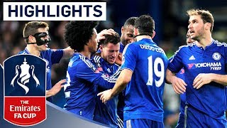Chelsea 51 Man City  Emirates FA Cup 2015/16 R5  Goals & Highlights