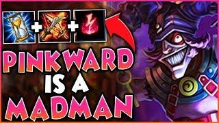 PINKWARD IS A MADMAN!