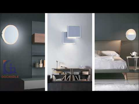 Lamparas LED Decorativas de Pared DGCANDLE