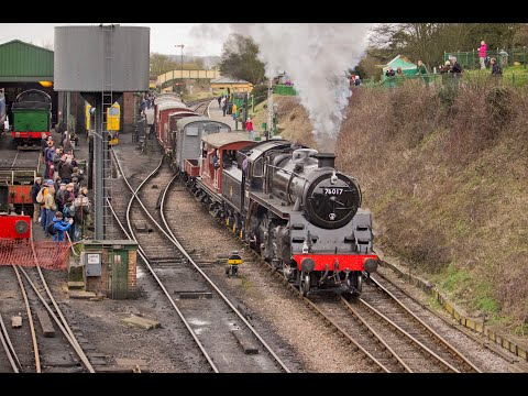 The Mid Hants Railway Pre-Spring Gala 19th February 2017