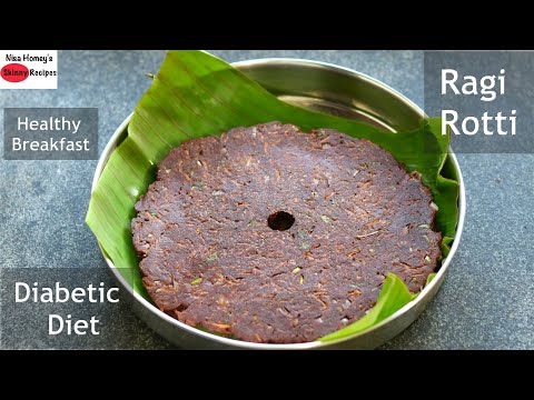 Healthy Diabetic Friendly Ragi Roti Recipe – Ragi Rotti (2 Ways) – Finger Millet Roti – Nachni Roti
