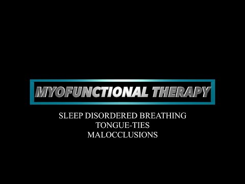 MYOFUNCTIONAL THERAPY   NICOLE GOLDFARB, M.A., CCC ...