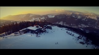 preview picture of video 'Szczyrk Skrzyczne 2015 Drone'