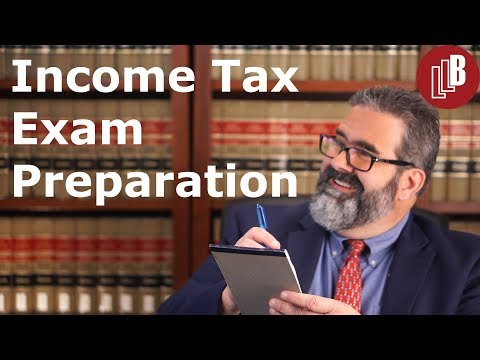 Income Tax Exam Preparation - YouTube