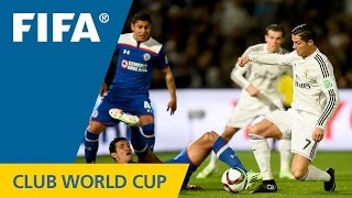 HIGHLIGHTS: Cruz Azul - Real Madrid (FIFA Club World Cup 2014)